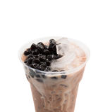 Bubble tea brown Royalty Free Stock Photos