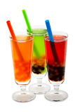 Bubble tea with clipping path Royalty Free Stock Image