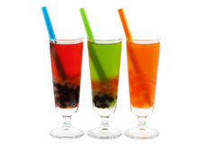 Bubble tea with clipping path Stock Photo