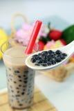Bubble tea stock image