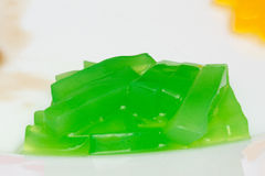 Bubble tea jelly Stock Image