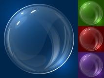 Bubble  template. Royalty Free Stock Photos