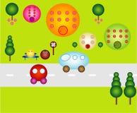 Bubble town Stock Photos
