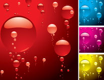 Bubble variation Royalty Free Stock Images