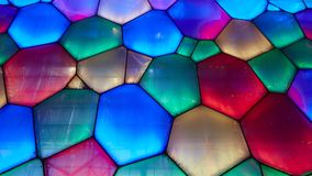 Bubble wall color array Stock Images