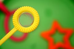 Bubble wand 2 Royalty Free Stock Images