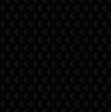 Bubble Wrap. Black Neutral Seamless Pattern for Modern Design in. Flat Style. Tileable Geometric Vector Background Royalty Free Stock Images