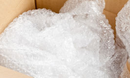 Bubble wrap packaging Royalty Free Stock Photo