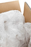 Bubble wrap packaging Royalty Free Stock Images