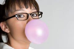 bubblegum女孩 免版税库存照片