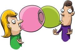 Bubblegum Connection Royalty Free Stock Photo