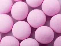 Bubblegum. Group of the Purple bubblegum close up Royalty Free Stock Images