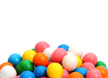 Bubblegum. On a white background Stock Images