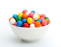 Bubblegum. On a white background Royalty Free Stock Images