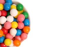 Bubblegum. On a white background Stock Photo