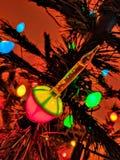 Bubbler bożonarodzeniowe światła Zdjęcie Royalty Free