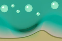 Bubbles. Illustration of bubbles royalty free illustration