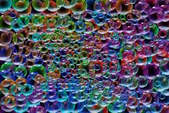 Bubbles. A background of colors bubbles royalty free illustration