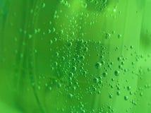 Bubbles. Green bubbles Royalty Free Stock Photo