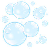 Bubbles. Vector bubbles isolated on white vector illustration