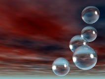 Bubbles royalty free illustration