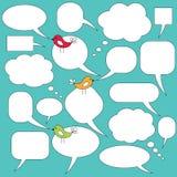 bubbles anförande Royaltyfri Fotografi