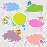 bubbles anförande Arkivbilder