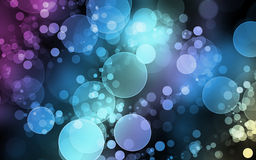Bubbles Background. A colourful background of bubbles Stock Image