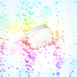 Bubbles background Stock Photo