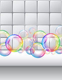 Bubbles background Royalty Free Stock Photo