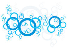 Bubbles Background. An abstract background made up of bubbles Royalty Free Stock Photos