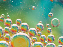 Bubbles background Stock Photography