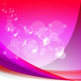 Bubbles Background Means Soapy Sparkles And Royalty Free Stock Images