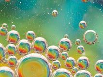 Bubbles bakgrund Arkivbild