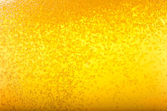 Bubbles in beer. Stock Photo
