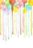 Bubbles bleed Stock Photos