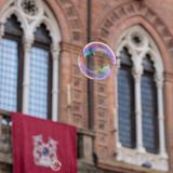 Bubbles In Bologna Royalty Free Stock Image