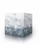 Bubbles in the box Royalty Free Stock Photos