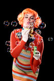 Bubbles, bubbles... bubbles Stock Images