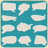 Bubbles chat Royalty Free Stock Photos