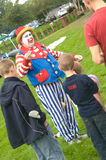 Bubbles the clown at Merkinch. Royalty Free Stock Photos