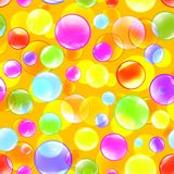 Bubbles color background vector Royalty Free Stock Image
