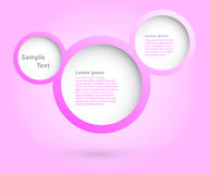 Bubbles design. Stock Image