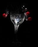 bubbles exponeringsglas Arkivbild