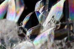 bubbles färgrikt Arkivbilder