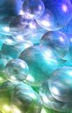 bubbles färgrikt Royaltyfria Bilder