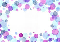 Bubbles frame Stock Images