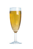 Bubbles in a glass of champagne Royalty Free Stock Photos