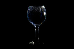 Bubbles in a glass Stock Image