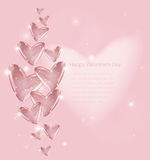 Bubbles Of Heart. Vector Stock Images